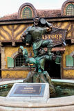 Statue of Gaston in the Magic Kingdom Royalty Free Stock Images