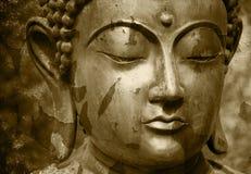 Gautama Buddha statue. A statue of the Gautama Buddha royalty free stock photos