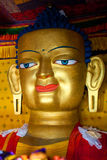 Statue of Gautama Buddha at Shey Gompa in Leh, Ladakh, India Royalty Free Stock Photo