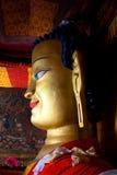 Statue of Gautama Buddha at Shey Gompa in Leh, Ladakh, India Royalty Free Stock Image