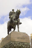 Statue of General Artigas Stock Photography
