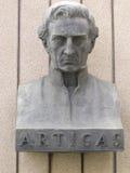 Statue of General Artigas Stock Photo