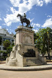 Statue of General Artigas Royalty Free Stock Photos