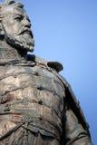 Statue of general Klapka closeup Royalty Free Stock Photography