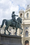 Statue of a general in Vienna Stock Photography
