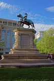 Statue of general Winfield Scott Hancock in Washington DC Stock Photo