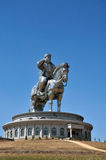 Statue of Genghis Khan Stock Photos