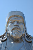 Statue of Genghis Khan Royalty Free Stock Photos