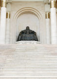 Statue of Genghis Khan Stock Images