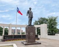 Statue of George Bannerman Dealey, Dealey Plaza Stock Image