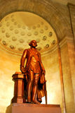 Statue of George Washington,  Alexandria, VA. The George Washington Masonic Memorial in Alexandria is a landmark and dominates the city's skyline. The memorial Royalty Free Stock Photos