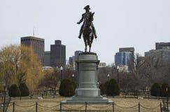 Statue of George Washington in Boston Public Garden, Boston, Massachusetts, USA Royalty Free Stock Photos