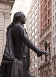 Statue George Washington Federal Hall Stock Photo