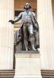 Statue George Washington Hall fédéral photographie stock