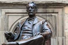 Statue of Giacomo Puccini Royalty Free Stock Photos