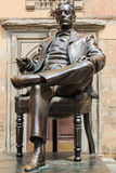 Statue of Giacomo Puccini Royalty Free Stock Images