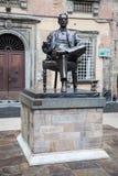 Statue of Giacomo Puccini stock photos