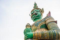 Statue of Giant (Demon, Titan) Stock Images