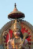 Statue of a giant Lord Hanuman Stock Photography