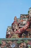 Statue of Giant at Wat Arun (Temple of Dawn) Royalty Free Stock Images