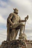 Statue Gimli Manitoba Wikinger Stockbilder