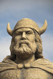 Statue Gimli Manitoba Wikinger Headshot Stockbilder