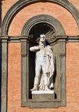 Statue of Gioacchino Murat in Palazzo Reale di Napoli. Campania, Italy. Stock Images