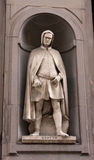 Statue of Giotto Royalty Free Stock Photography
