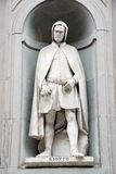 Statue of Giotto Stock Photos