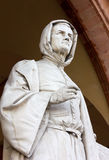 Statue of Giotto in Padua Royalty Free Stock Photography