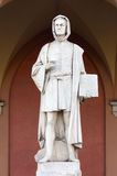 Statue of Giotto in Padua Stock Images