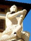 Statue of Giovanni delle Bande Nere Stock Photography