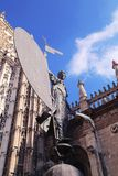 The statue of the Giralda Royalty Free Stock Images