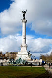 Statue of girondins Royalty Free Stock Images