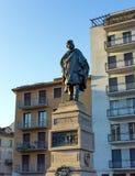 Statue of Giuseppe Garibaldi, Como, Italy Royalty Free Stock Image