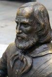 Statue of Giuseppe Garibaldi in La Maddalena Royalty Free Stock Photos