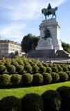 Statue of Giuseppe Garibaldi, Milan Royalty Free Stock Photos
