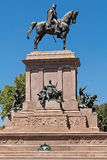 Statue of Giuseppe Garibaldi Royalty Free Stock Images