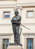 Statue of Giuseppe Garibaldi in Udine Stock Photo