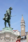 Statue of Giuseppe Tartini Royalty Free Stock Image