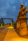 Statue of Glienicke Bridge Royalty Free Stock Images