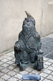 Statue of gnome Stock Photography