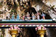 Statue of god at Batu caves, Kuala-Lumpur Stock Photos