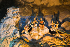 Statue of god at Batu caves, Kuala-Lumpur, Malaysia Royalty Free Stock Photography