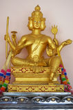 Statue of god Brahma Royalty Free Stock Image