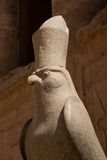 Statue of god Horus Stock Photos