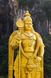 Statue of god Muragan at Batu caves, Kuala-Lumpur Royalty Free Stock Images
