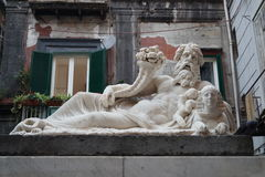 Statue of the God Nilo Stock Photos