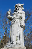 Statue of god Radegast on a Czech mountain Radhost Royalty Free Stock Images