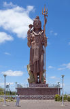 Statue of god Shivy on Mauritius. Statue of god Shivy on island Mauritius Royalty Free Stock Images